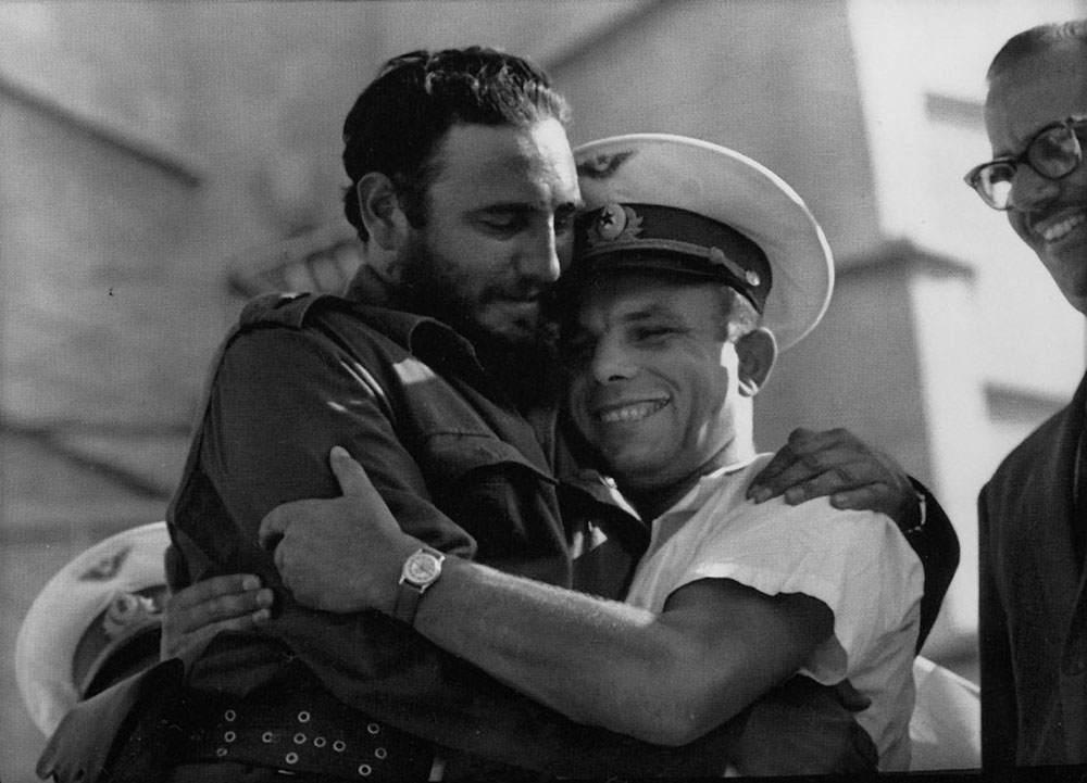 Ha muerto Fidel Castro. Fidel+castro+y+yuri+gagarin