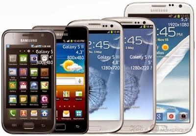 Daftar Harga Samsung Galaxy Bulan Juli 2014