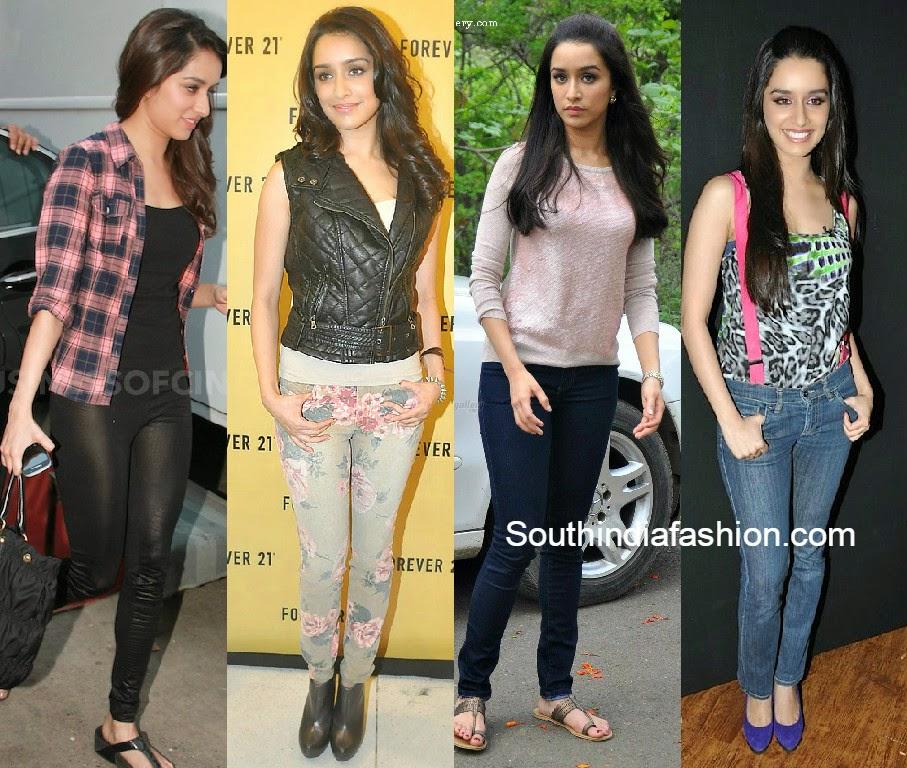 shraddha kapoor in jeans