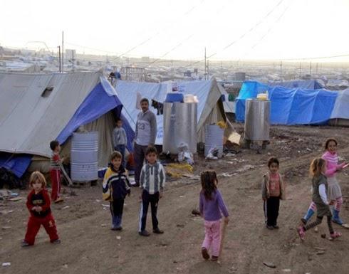 الاجئين السورين  بلا وطن