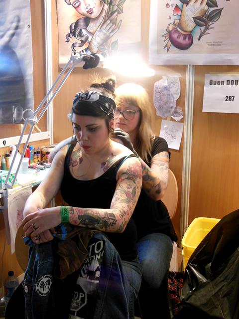 Funky buddha tattoo thamel kathmandu mondial tattoo paris for Salon tattoo paris