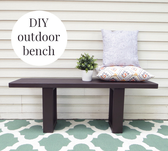 how to make an easy west elm inspired diy outdoor bench creative