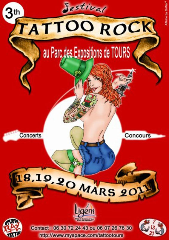 convention tatouage tours - Salon du Tatouage de Tours Tours Évènement Facebook