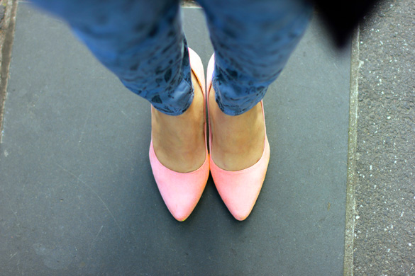 H&M Peach Pumps