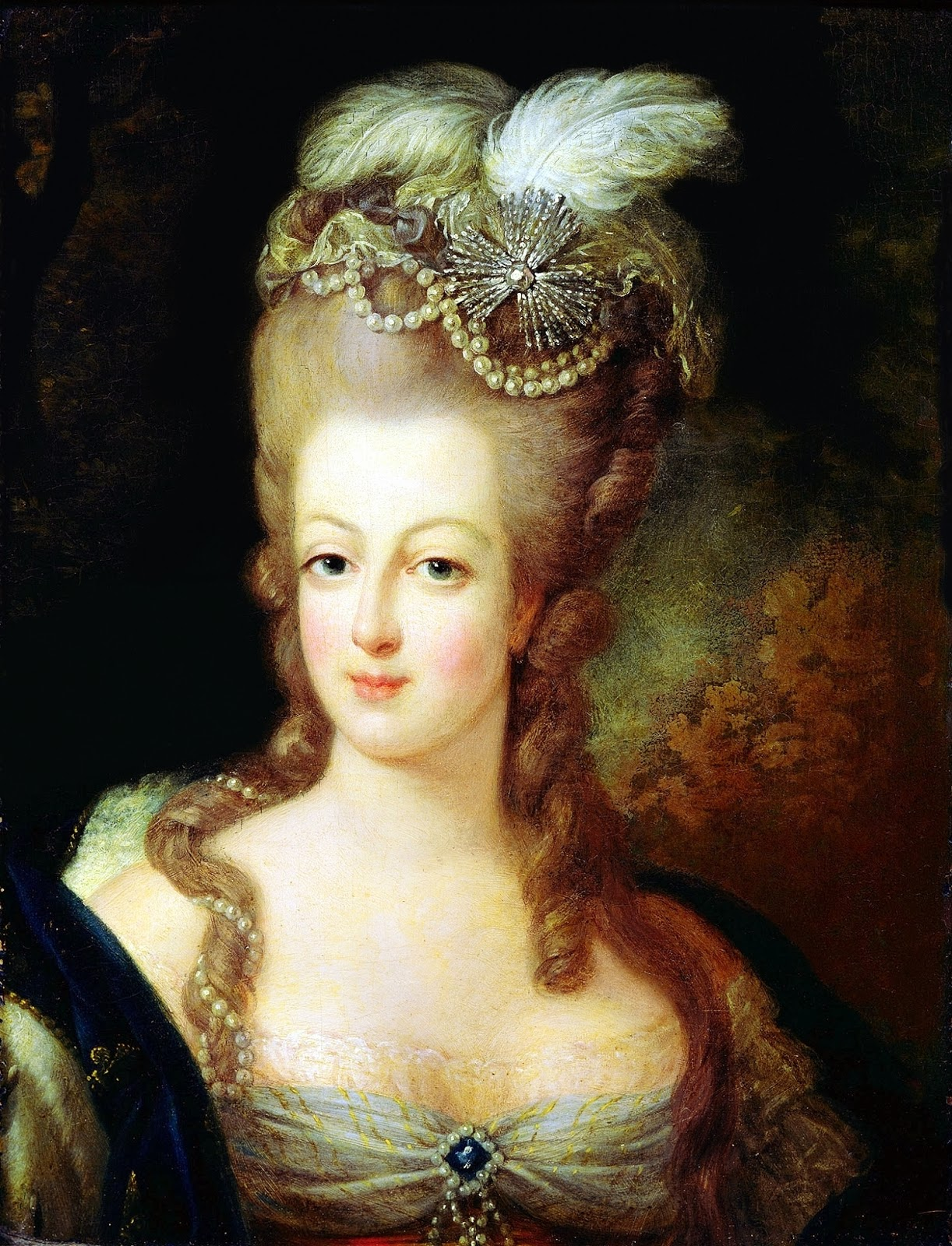 {{Information |Description={{en|1=Portrait of Queen Marie Antoinette of France, 1775.}} |Source=Scan |Author=Jean-Baptiste Gautier Dagoty (1740-1786) |Date=ca. 1775 |Permission= |other_versions=http://commons.wikimedia.org/wiki/File:Marie-Antoinette,_1775
