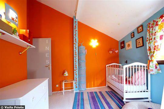 Ni o en casa los colores y dise os modernos de las - Colores para habitaciones infantiles ...