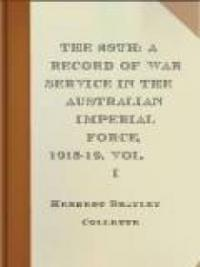 The 28th: A Record of War Service in the Australian Imperial Force