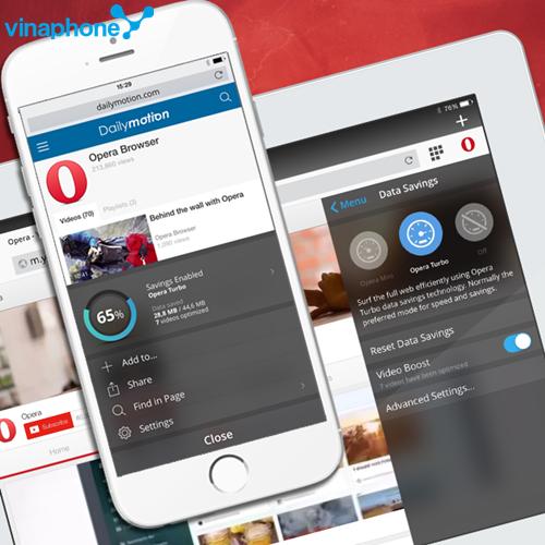 Gói cước 3G OperaMini Vinaphone