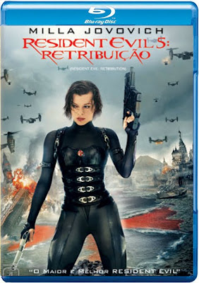 Filme Poster Resident Evil 5 – Retribuição BDRip XviD Dual Audio & RMVB Dublado
