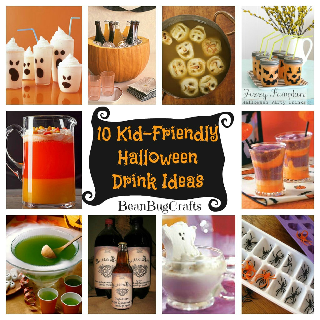 BeanBugCrafts: Ten Halloween Kid-Friendly Drink Ideas