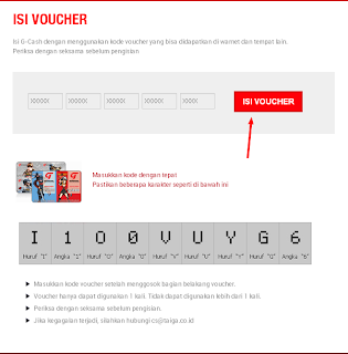 Voucher G-Cash Gemscool