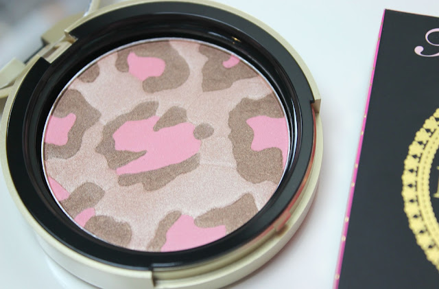 A picture of Too Faced Pink Leopard Blushing Bronzer