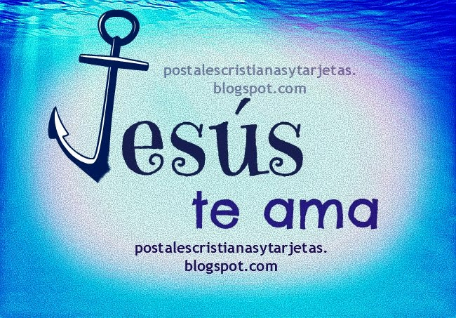 Jesús te ama.Postales cristianas, tarjetas, imágenes gratis para etiquetar amigos facebook. Jesús es amor. Jesús te salva y te da vida. Postales evangelísticas, para amiga, amigo, juveniles. Cree en Jesucristo, serás salvo.
