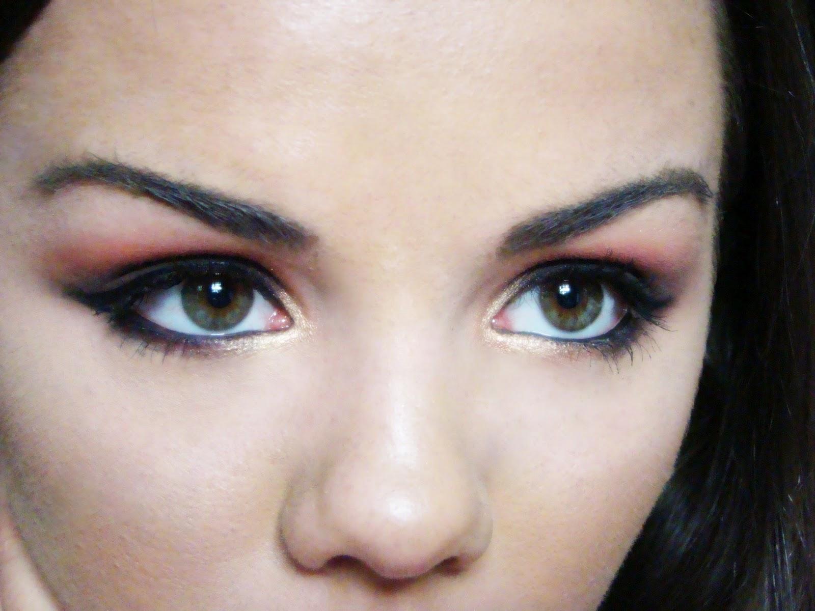 Musette: Warm brown smokey eyes tutorial