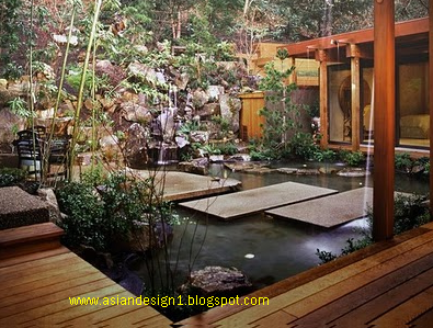 Asian design Asian landscape design