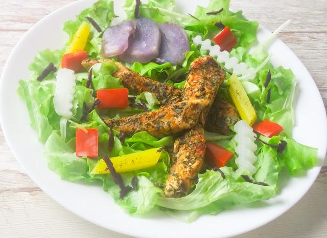 kurczak z parowaru z warzywami na parze