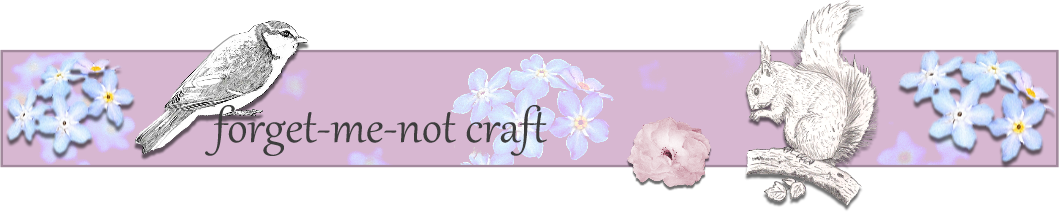 forget-me-not craft
