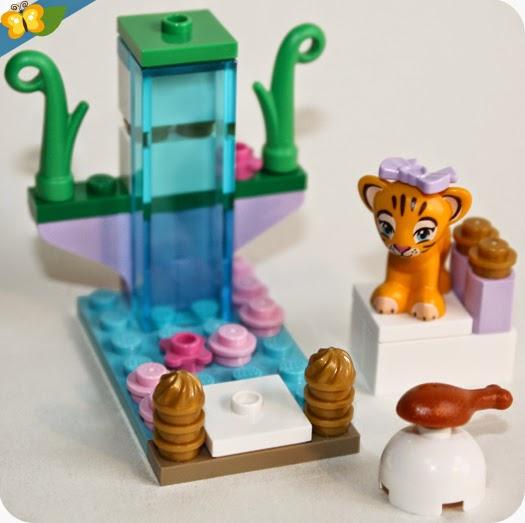 LEGO® Friends Animaux - Série 4 - Le tigre et son temple asiatique
