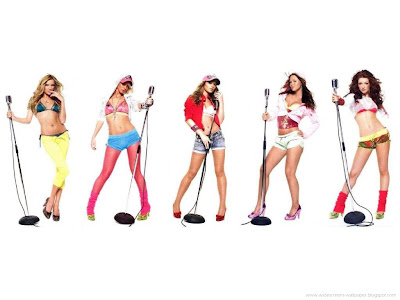 Girls Aloud pop girl group Wallpapers