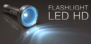 برنامج flashlight hd led لتشغيل الفلاش ككشاف للاندرويد