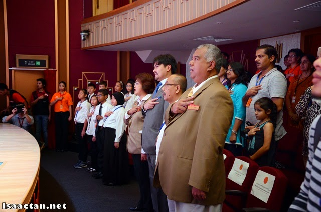 The inauguration kicked off with KidZania's anthem being sung