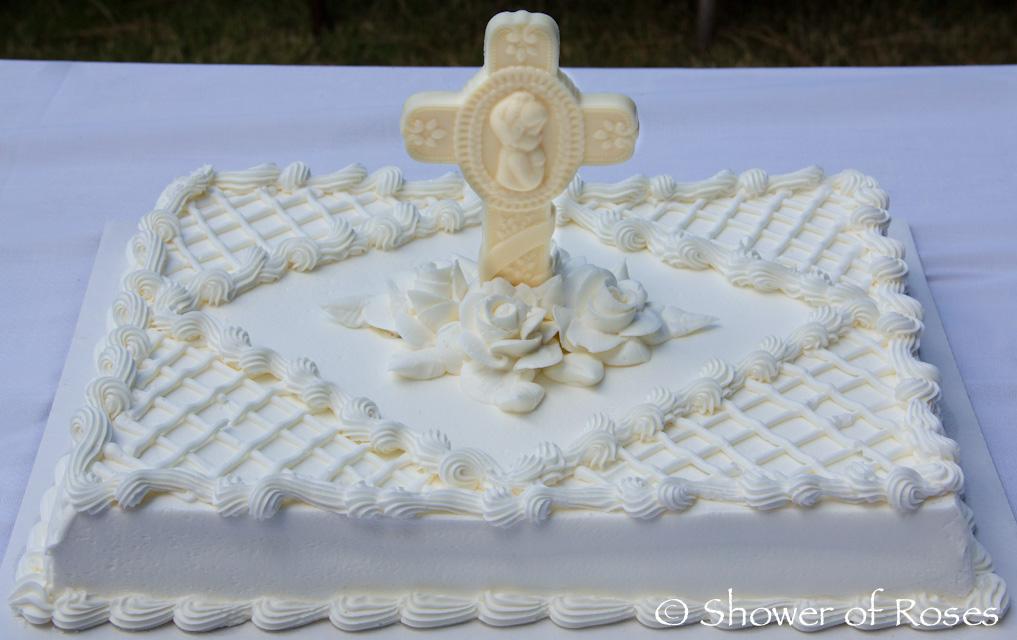 Shower Of Roses Our Goddaughter S Holy Sacrament Of Baptism