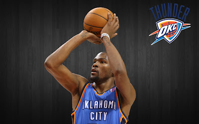 Kevin Durant wallpaper, Oklahoma City Thunder