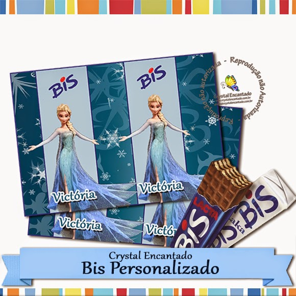 Bis personalizado Frozen
