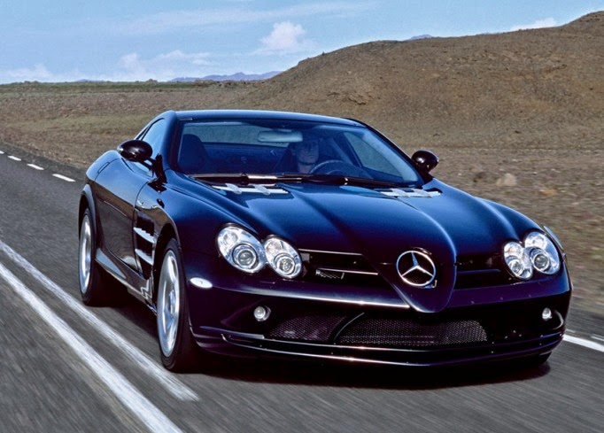 Mercedes benz slr mclaren 999 enters the most expensive for Most expensive mercedes benz in the world