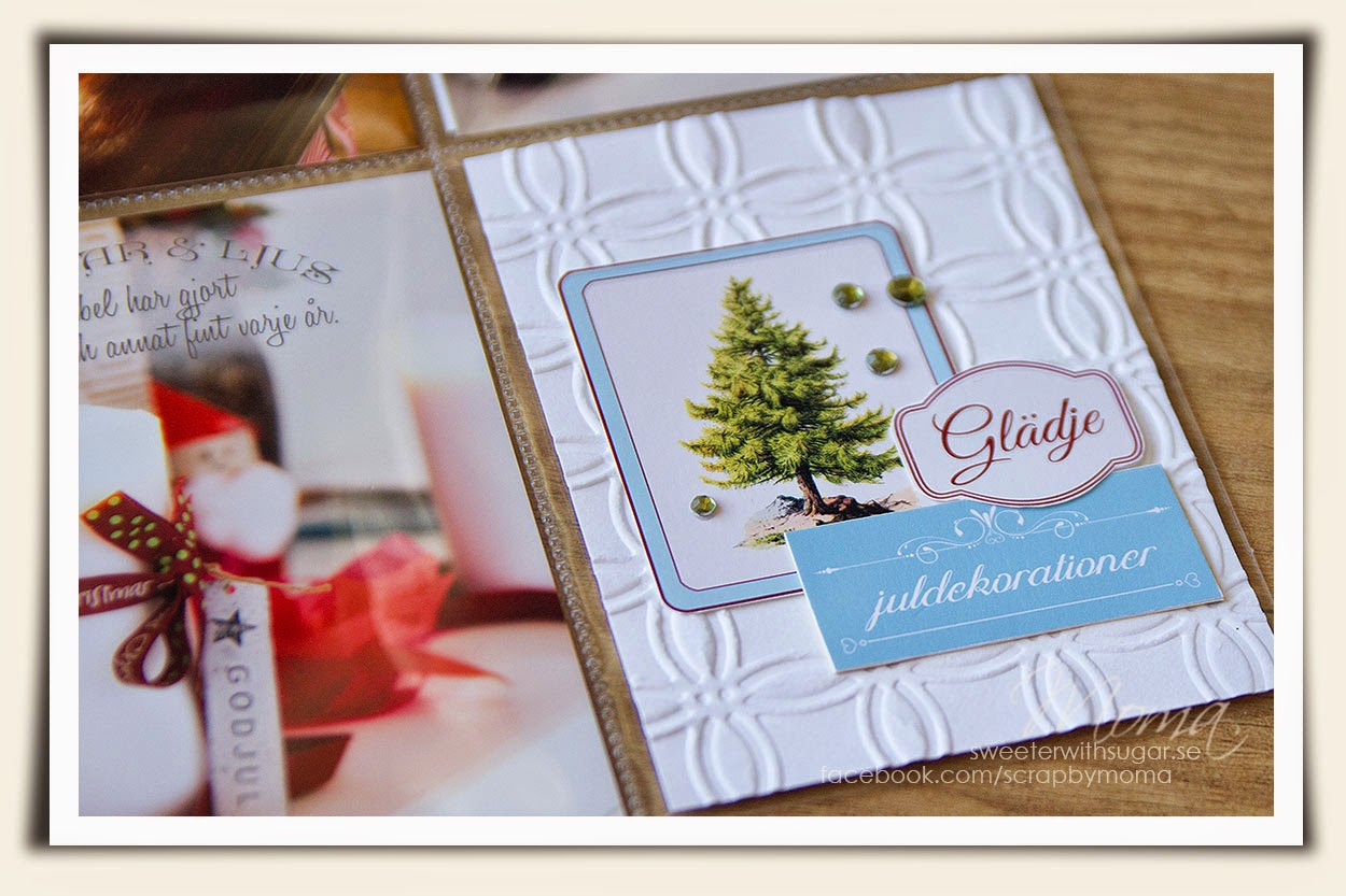 project life, December Daily, 24 days of December, Christmas 2014, freebie, Spellbinders