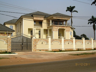 Mansions in nigeria pics gistmania for Pictures of beautiful houses in nigeria