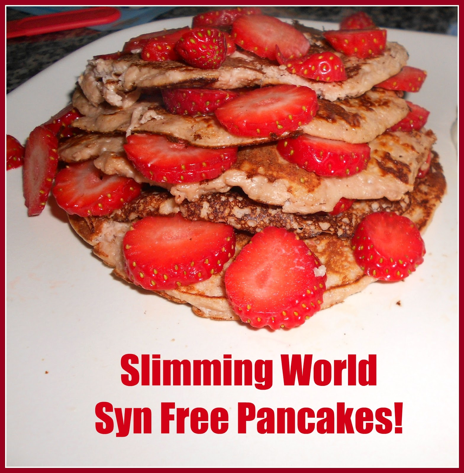 A matter of choice: Slimming World 'Syn Free' Pancakes