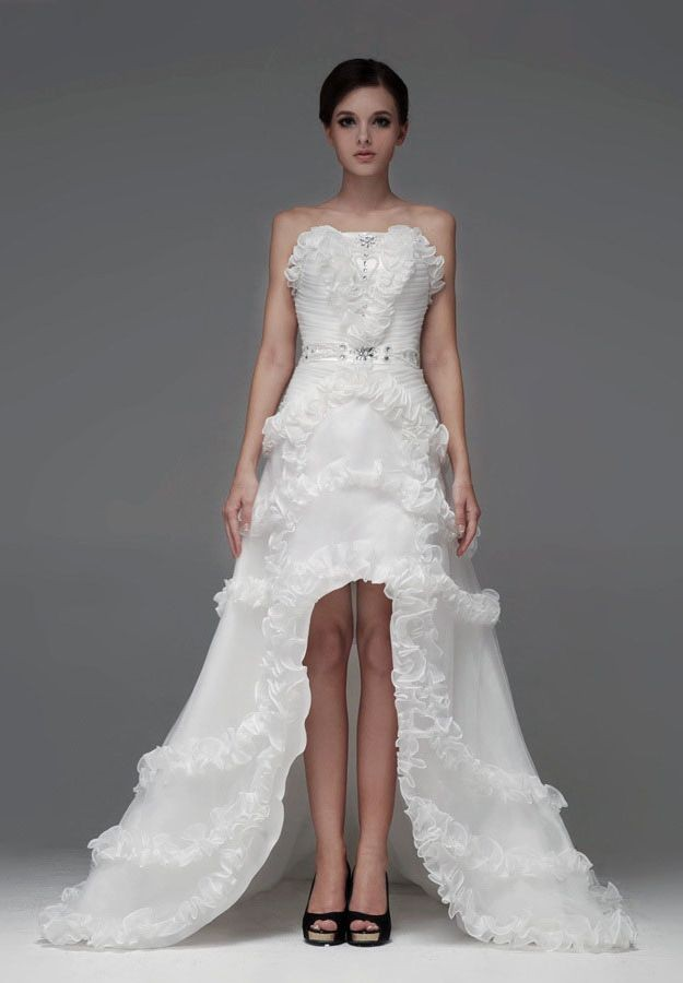 Whiteazalea high low dresses choosing high low wedding for Wedding dress high low