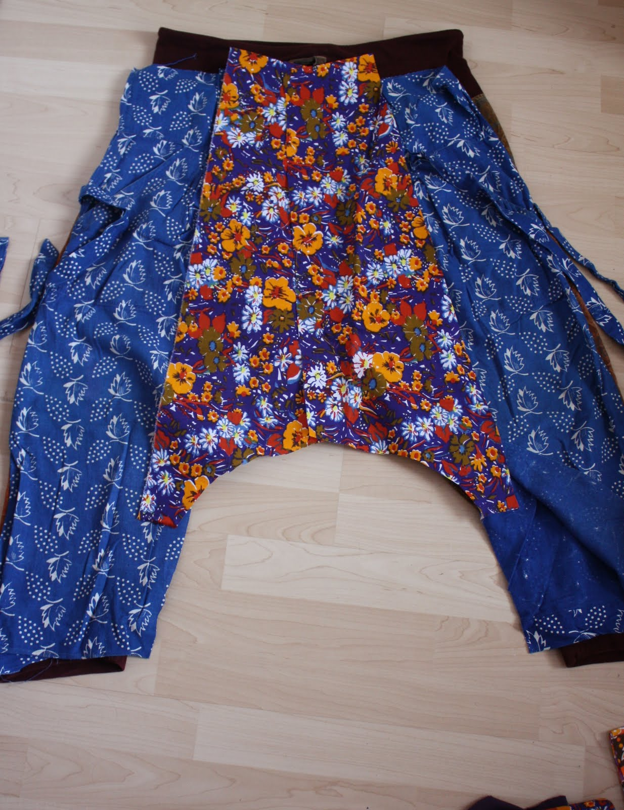 from now till then and in between harem pants pattern