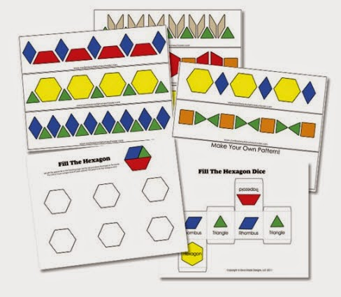 http://www.confessionsofahomeschooler.com/blog/2013/07/1-20-free-bw-pattern-block-cards.html