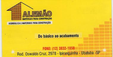 ALEMÃO MATERIAIS P/ CONSTRUÇÃO