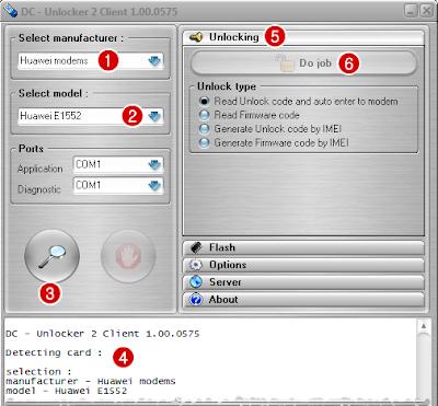 Dc unlocker client как пользоваться
