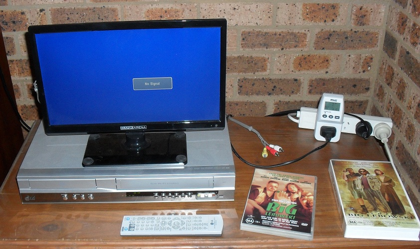 hook up vcr to computer