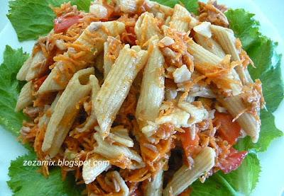 Salata od tune, integralne tjestenine i povrća