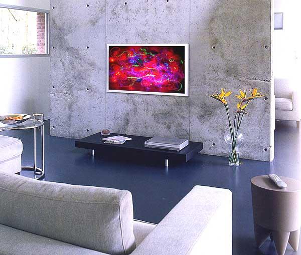 Interior Design Sample 1 Black And White Combination