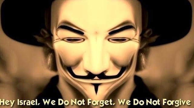 #OPIsrael 2015 Anonymous Bombardir Situs Israel