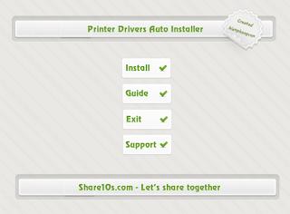 Harga Printer Driver Auto Instaler - Instal Secara Otomatis