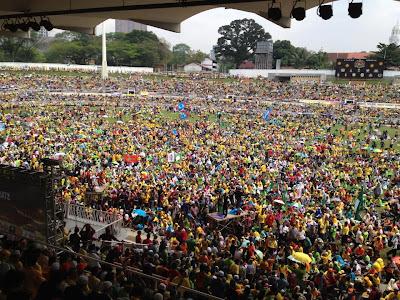 Himpunan Kebangkitan Rakyat (KL112): DALAM STADIUM MERDEKA TERKINI