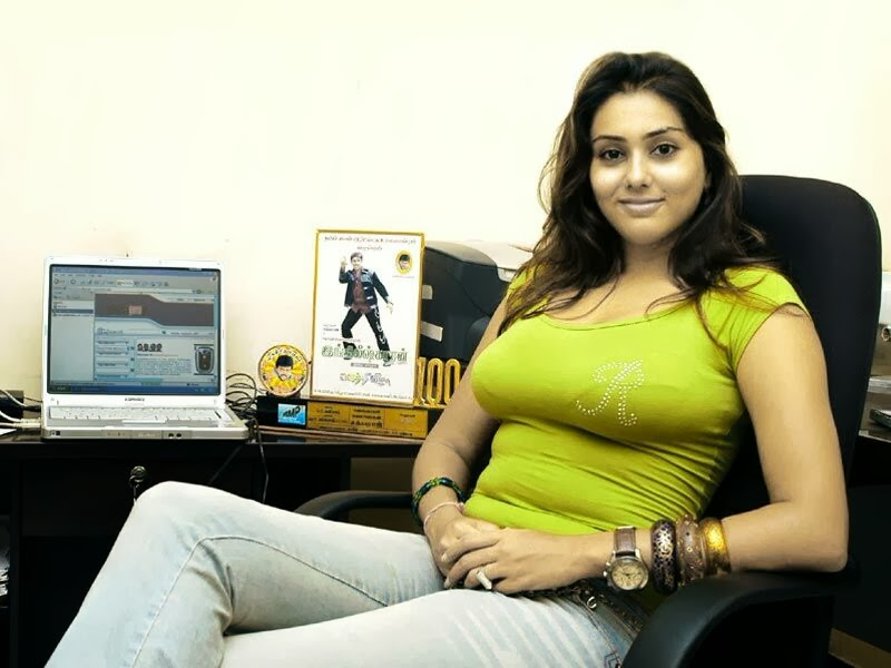 without any dress Namitha