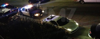 Photo - Justin Bieber pulled over by Police in West Hollywood