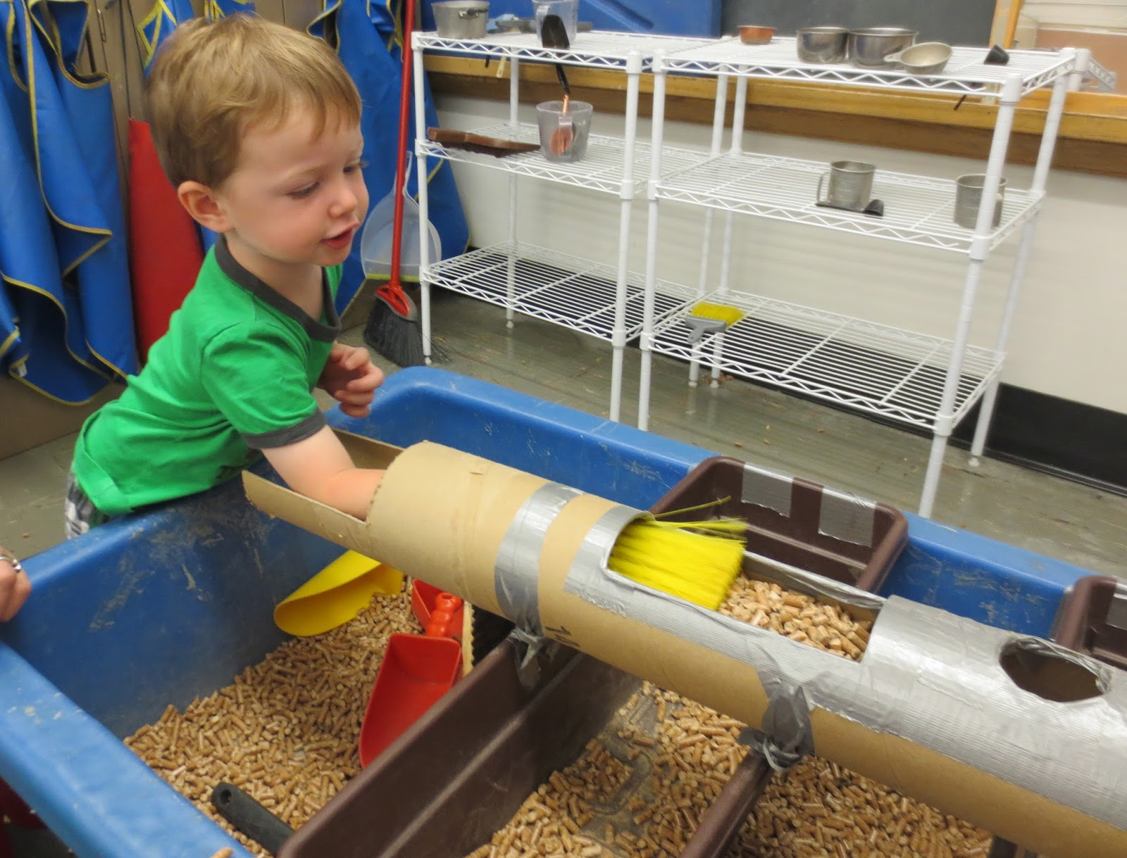 SAND AND WATER TABLES September