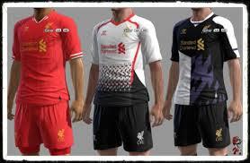 jersey klub sepakbola 2013/2014