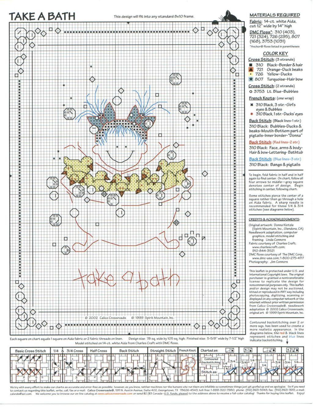 Сундучок ланушки: схема для вышивки - забавные человечки.