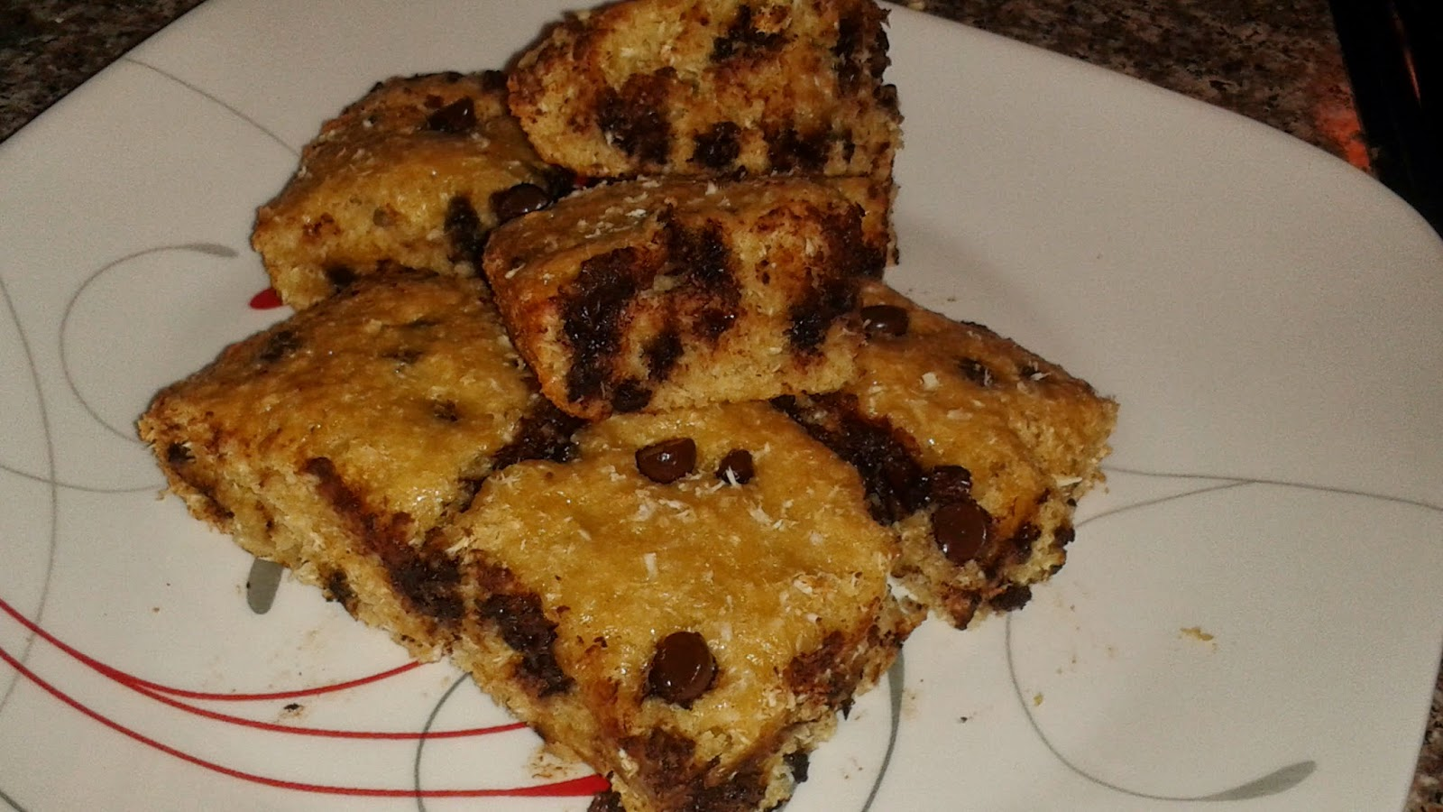 Films and Veganism: Vegan Coconut Chocolate Chip Cake Bars, Revisited ...