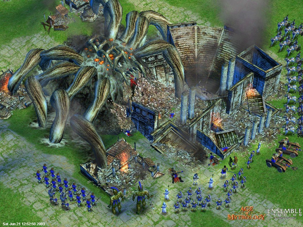 WatFile.com Download Free Age Of Mythology Complete Collection - Windows 7 Compatible + The